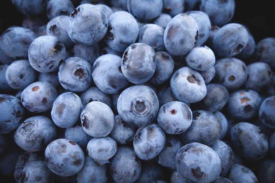 Blueberries are good for erection