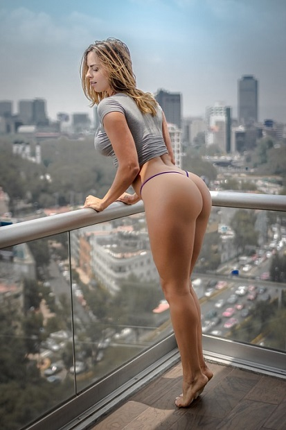 HAVE SEX ON THE BALCONY